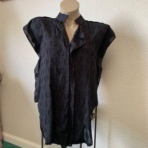 Zara Tops - Zara Collection Black Blouse made in USA size M